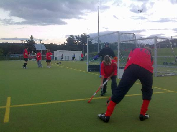 1. FCK Field Hockey Training