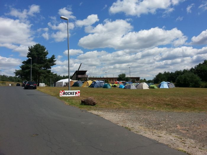 1. FCK Hockey SommerCamp 2015 - Zeltlager