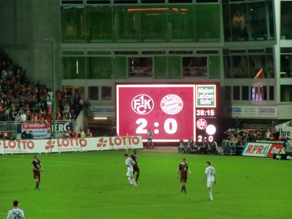 1. FC Kaiserslautern  FC Bayern Mnchen - 1. Liga 2010/2011 -  Foto: Stefan Mai