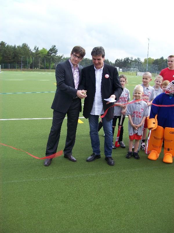 Einweihung 1. FCK Hockey Kunstrasenplatz 2012
