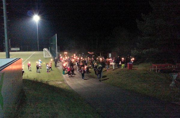 1. FCK Hockey - Weihnachtsfeier 2016 - Fackelwanderung