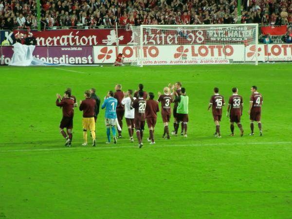1. FC Kaiserslautern - Mannschaft 2010/2011 -  Foto: Stefan Mai
