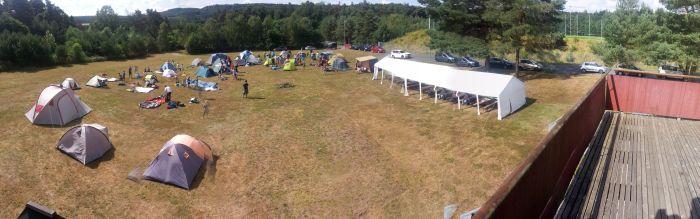 1. FCK Hockey SommerCamp 2015 - Panorama Zeltlager