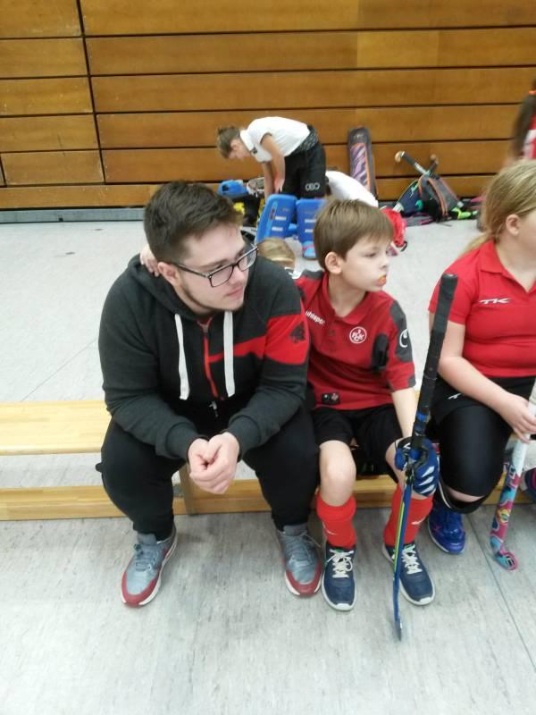 1. FCK - Unser FSJ Co-Trainer in Aktion