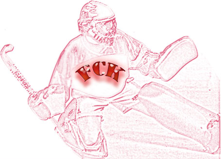 FCK - Hockey-Torwart --> Bild von Marisa Münch (ehemalige FCK-Hockeytrainerin)