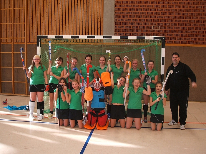 1.FCK Mädchen B - Verbandsligameister RLP/Saar - Hallensaison 2011/2012